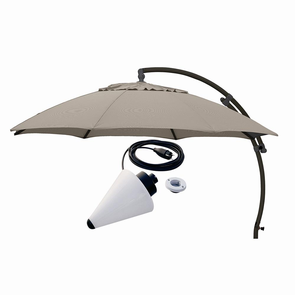 parasol easy sun 3 75m plus lampa emma meble kawiarniane i ogrodowe. Black Bedroom Furniture Sets. Home Design Ideas