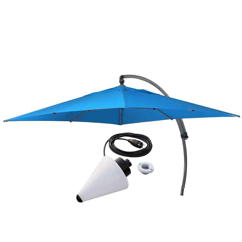 parasol easy sun 320 x 320 plus lampa r ne kolory emma meble kawiarniane i ogrodowe. Black Bedroom Furniture Sets. Home Design Ideas