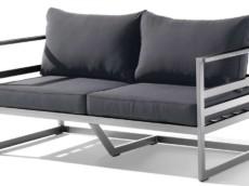 Sieger-Lounge-Moebel-Loungemoebel-Sieger-in-Grau-Anthrazit-Sieger-Exclusiv-2-Sitzer-Sofa-Melbourne-402-A-G-Gestell-Aluminium-Graphit-Sitz-und-Ruecken-Sunproof-Grau-guenstiger