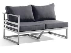 sieger-seitenteil-links-melbourne-gestell-aluminium-graphit-sitzflaeche-textilgewebe-grau
