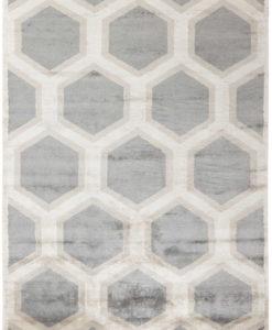 Beżowo Szary Dywan Geometryczny - COSMOU DECOR 7052
