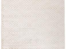 Beżowy Dywan Geometryczny - COSMOU PLUME 7053