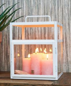 Lampiony dekoracyjne i świeczniki