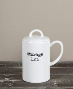 Pojemnik ceramiczny Storage Jar 16x31cm Riviera Maison
