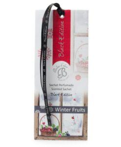 Saszetka zapachowa do szafy – Winter Fruits – Zimowe owoce – Black Edition