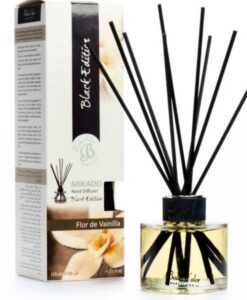 Patyczki zapachowe – Flor de Vainilla – Kwiat wanilii – Mikado Black Edition
