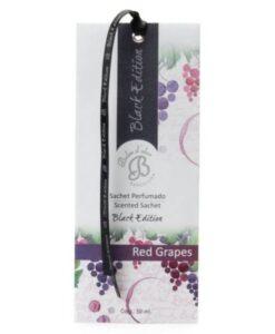 Saszetka zapachowa do szafy – Czerwone winogrona – Black Edition