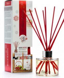 Patyczki zapachowe – Winter Fruits – Zimowe owoce – Mikado Black Edition