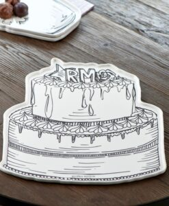 RM Loves Pie Serving Plate